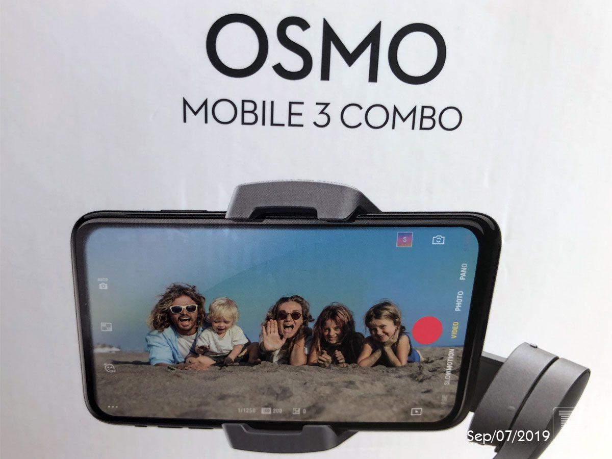 Osmo Mobile 3 Comboがやってきた!
