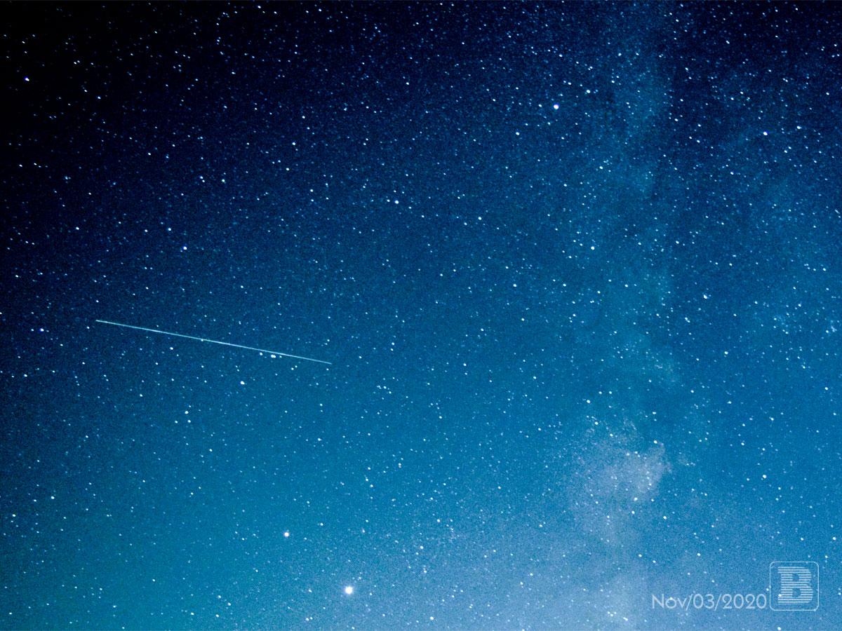 夜空を撮影してみた