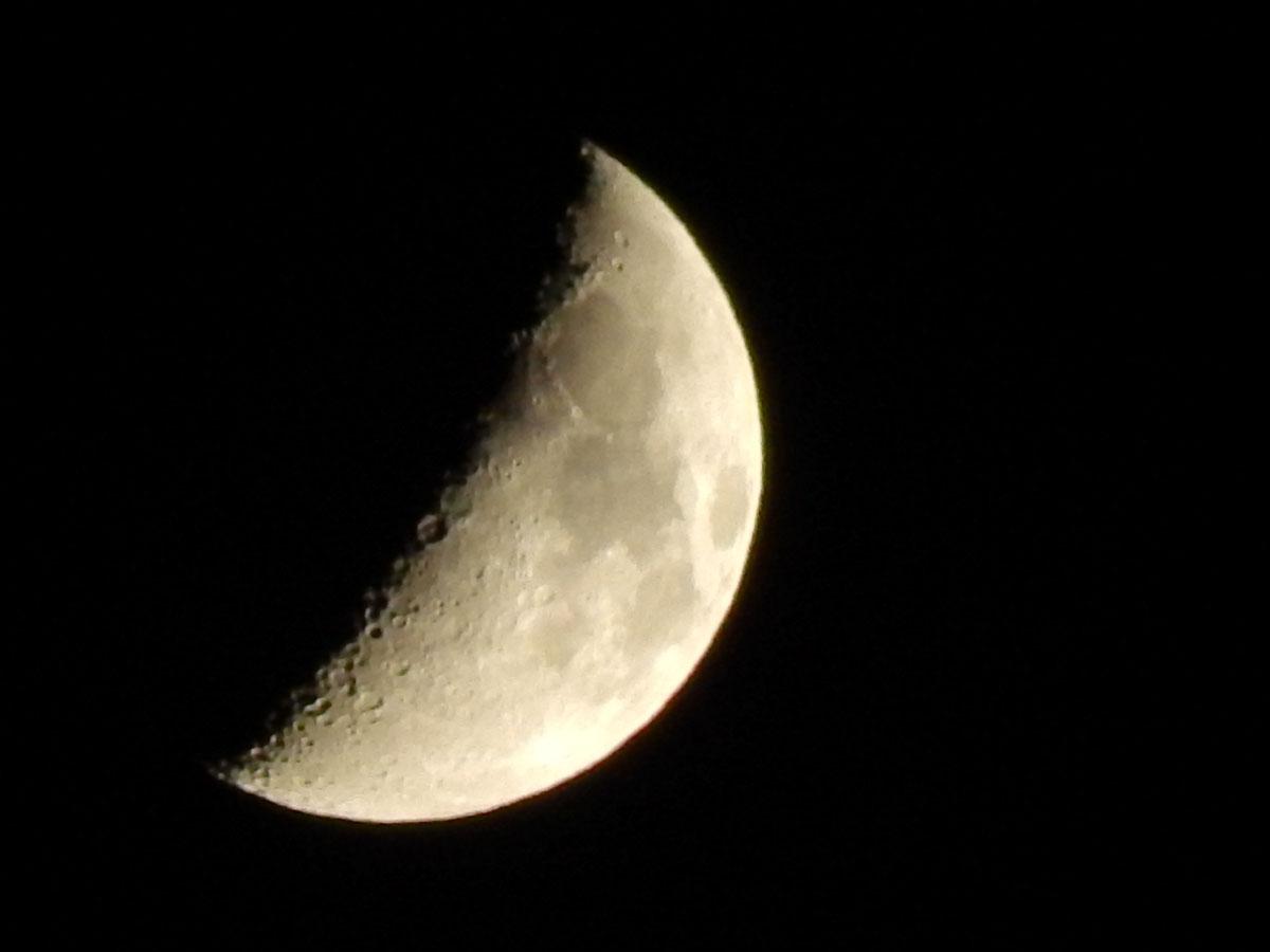 コンパクトカメラ(COOLPIX)で夜空を撮影してみた